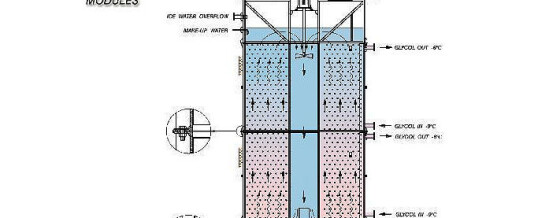 Ice Water Silo – Application